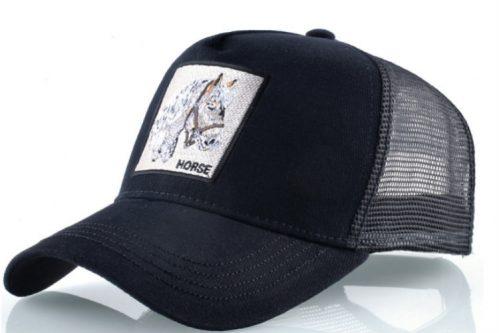 קולקצית החיות - כובע סוס שחור