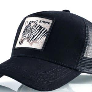 קולקצית כובעי חיות - זברה