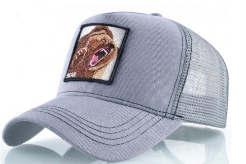 כובעי חיות - דוב אפור