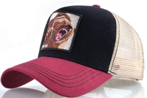 קולקצית החיות - דגם Red Black Bear