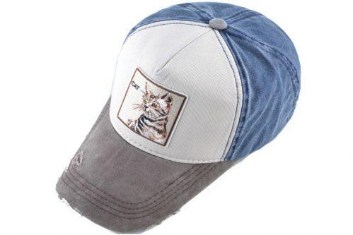 קולקצית כובעי החיות ריקמת חתול