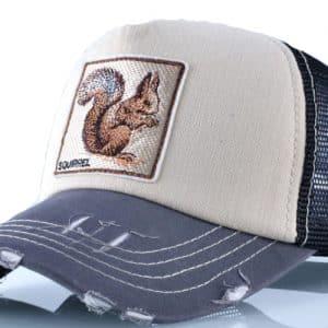 קולקצית כובעי החיות כובע הסנאי