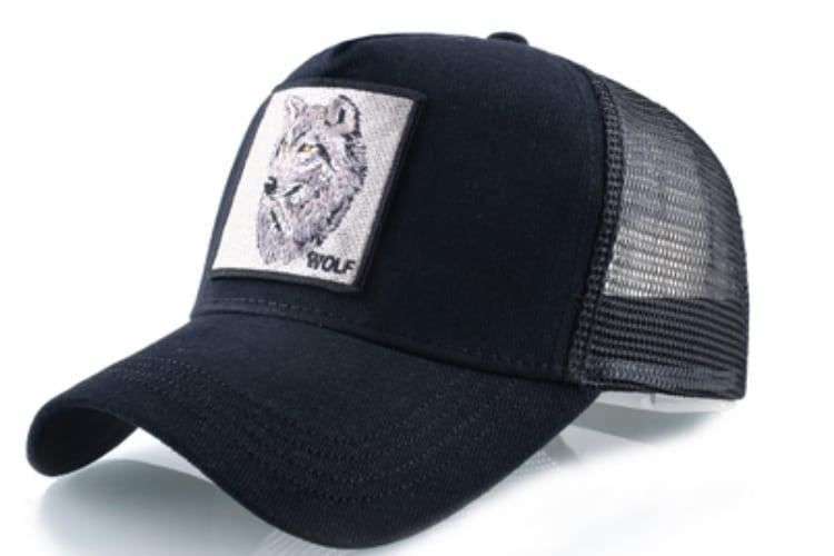 כובע זאב שחור 2