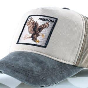 כובע חיות נשר בצבע חום