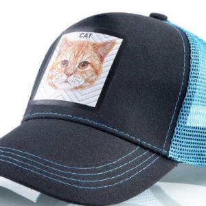 כובע חיות חתול תכלת