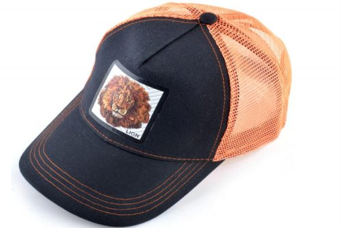 כובע החיות אריה בצבע כתום