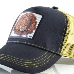 כובע חיות דגם האריות הצהוב