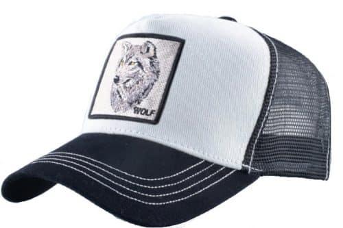 כובע חיות זאב לבן