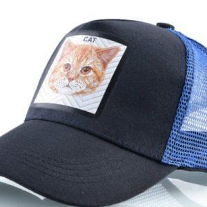 כובע חיות מהמם דגם החתול הכחול
