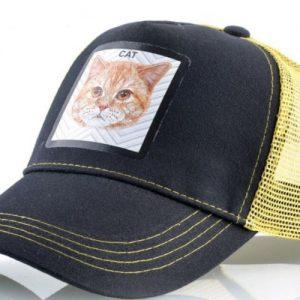 כובע חיות מהמם דגם החתול הצהוב