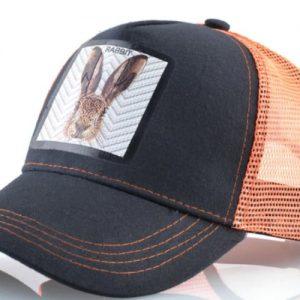 כובעים יפים עם חיות כובע הארנב הכתום