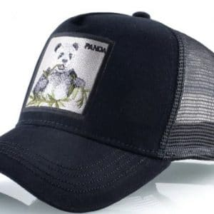 כובע דוב פנדה שחור