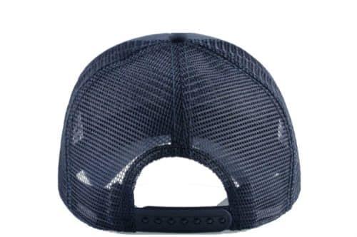 כובע דוב פנדה כחול הפוך