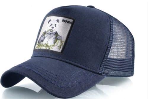 כובע דוב פנדה כחול