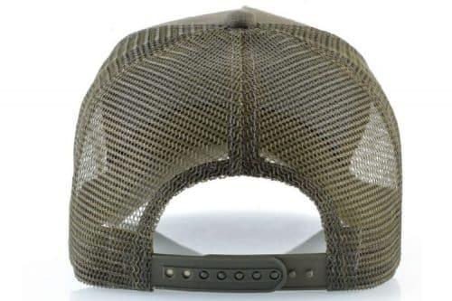 כובע פיל ירוק מבט אחורי