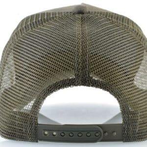 כובע דוב פנדה ירוק מבט אחורי
