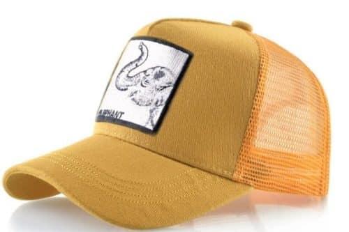 כובע חיות הפיל הצהוב
