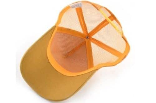 כובע סוס דוהר צהוב תחתון