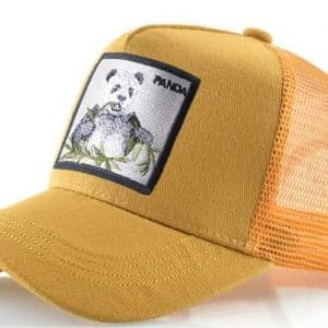 כובע דוב הפנדה הצהוב
