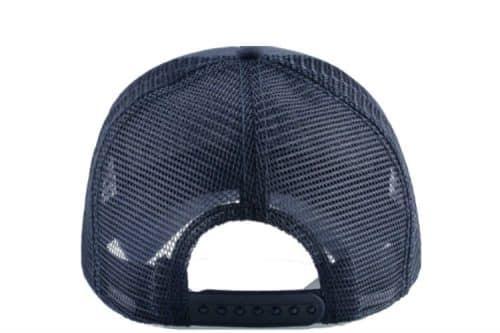כובע פינגויין כחול מבט אחורי