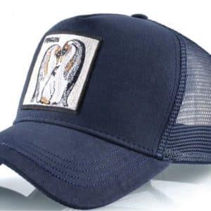 כובע חיות פינגווין כחול קיץ 2021