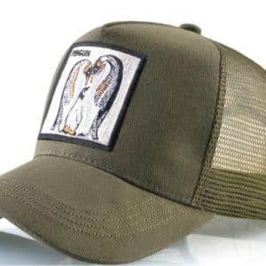 כובע פינגויין ירוק